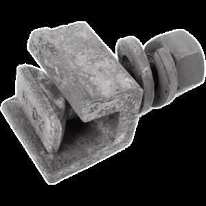 Болт клеммный М22х75 всборе