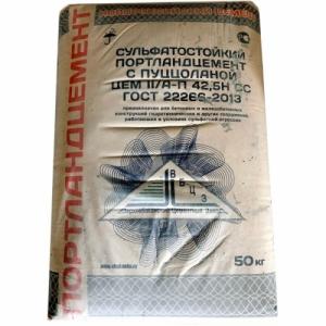Новороссийский цемент ЦЕМ II/А-П 42,5НСС