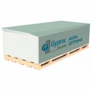Лист гипсокартона влагостойкий GYPROC АКВА ОПТИМА ГСП-Н3